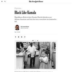 Black Like Kamala