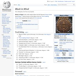 Black in Mind - Wikipedia