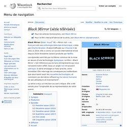 Black Mirror (série télévisée)