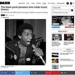 The black punk pioneers who made music history