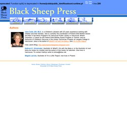 Black Sheep Press: Authors