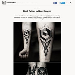 Black Tattoos by Kamil Czapiga