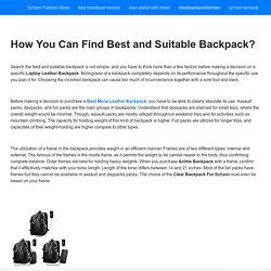 blackbackpackformen