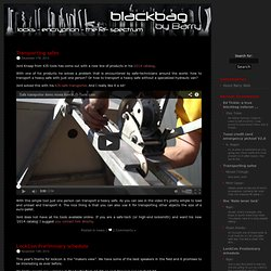 Blackbag, Barry's weblog