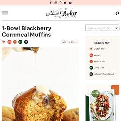 Blackberry Cornmeal Muffins