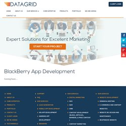 Blackberry App Development Services