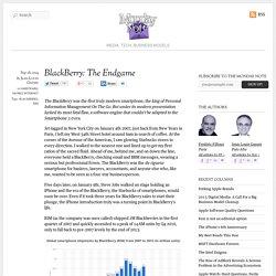 BlackBerry: The Endgame