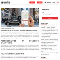 Blackbird Worldwide NYC Limousine Services - Blog
