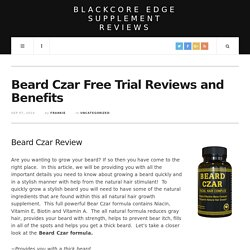 Blackcore Edge Supplement Reviews