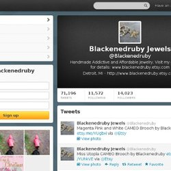 Blackenedruby Jewels (Blackenedruby) on Twitter