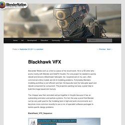 Blackhawk VFX