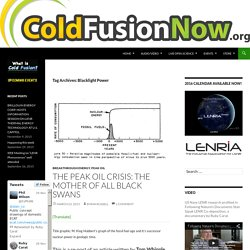 Blacklight PowerCOLD FUSION NOW!