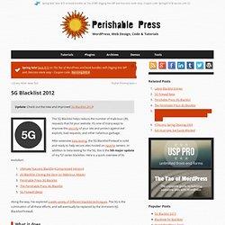 5G Blacklist 2012