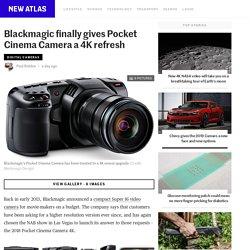 Blackmagic finally gives Pocket Cinema Camera a 4K refresh