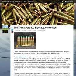 The Truth about 300 Blackout Ammunition - Buy Handgun, Gun Ammo USA