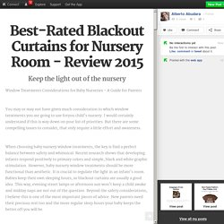 Best-Rated Blackout Curtains for Nursery Room - Review 2015