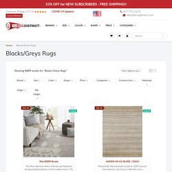 Shop Blacks/Greys Rugs Online at Discounted Prices