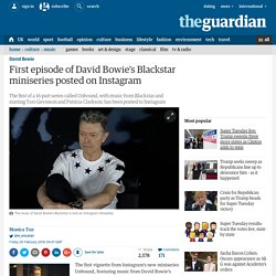 First episode of David Bowie's Blackstar miniseries posted on Instagram
