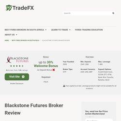 Blackstone Futures Broker Review 2021□