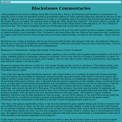 Blackstones Commentaries