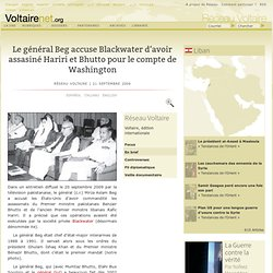 2009Gal Beg accuse Blackwater d'assassinat