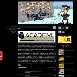 Blackwater change de nom et devient Academi - Site Jimdo de lepeuplecontreattaque!