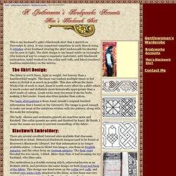 Man's Blackwork Shirt - Brodyworke Accounts - www.kimiko1.com