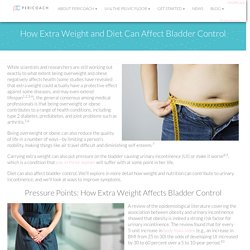 How Extra Weight and Diet Can Affect Bladder Control