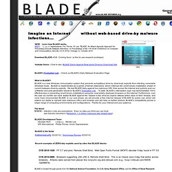 BLADE - Block All Drive-by Download Exploits