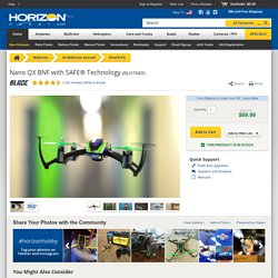 Blade Nano QX BNF Quadcopter with SAFE