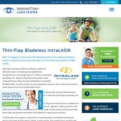 Bladeless Lasik NYC, Intralasik, Manhattan Lasik Center