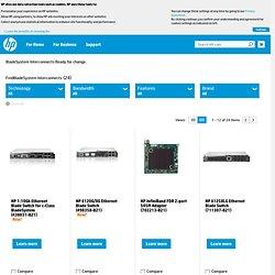HP 10GbE Ethernet Pass-Thru Module for c-Class BladeSystem (5381