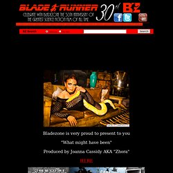 BladeZone: The Online Blade Runner Fan Club and Museum
