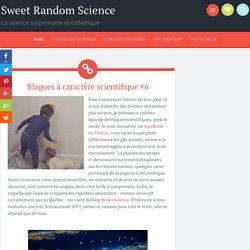 Blagues à caractère scientifique #6