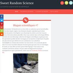 Blagues scientifiques #7