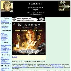 Blake's 7 / Blakes 7 / B7 (hermit.org / Blakes-7.com)