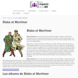 Blake et Mortimer - Les experts de la BD