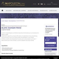 BLANC-MANGER FROID