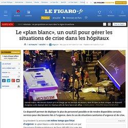 Le «plan blanc», un outil pour gérer les situations de crise dans les hôpitaux