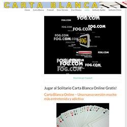 Jugar Carta Blanca - Juegos Carta Blanca FreeCell Gratís Online!