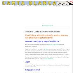 Carta Blanca Online - jugar juegos FreeCell gratís online!