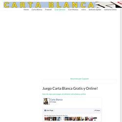 Juego Carta Blanca - jugar Solitario Carta Blanca Online Gratís!