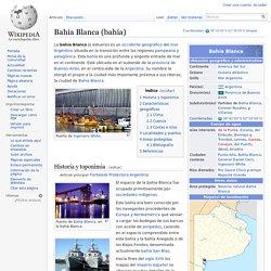 Bahía Blanca (bahía)