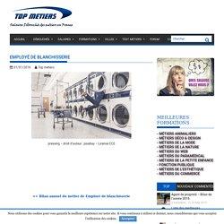 Salaire net de Employé de blanchisserie, débouchés, CV etc...