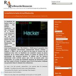Le manifeste du hacker