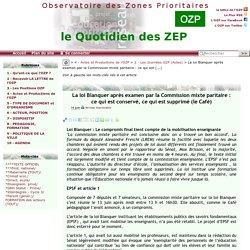 La loi Blanquer après examen par la Commission mixte paritaire : ce qui est(...)