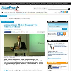 Comment Jean-Michel Blanquer veut redessiner l'Essec