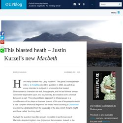 This blasted heath – Justin Kurzel's new Macbeth
