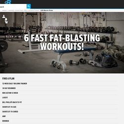 Burn Fat Fast: 6 Quick Fat-Blasting Workouts