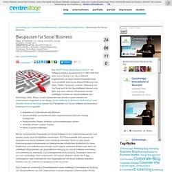 Blaupausen für Social Business